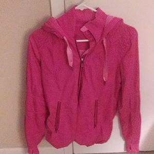 Lululemon pink light jacket windbreaker